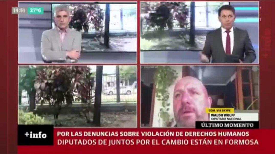 DIPUTADOS ARGENTINOS DENUNCIAN VIOLACIÓN DE DERECHOS HUMANOS | CAMPOS DE CONCENTRACIÓN