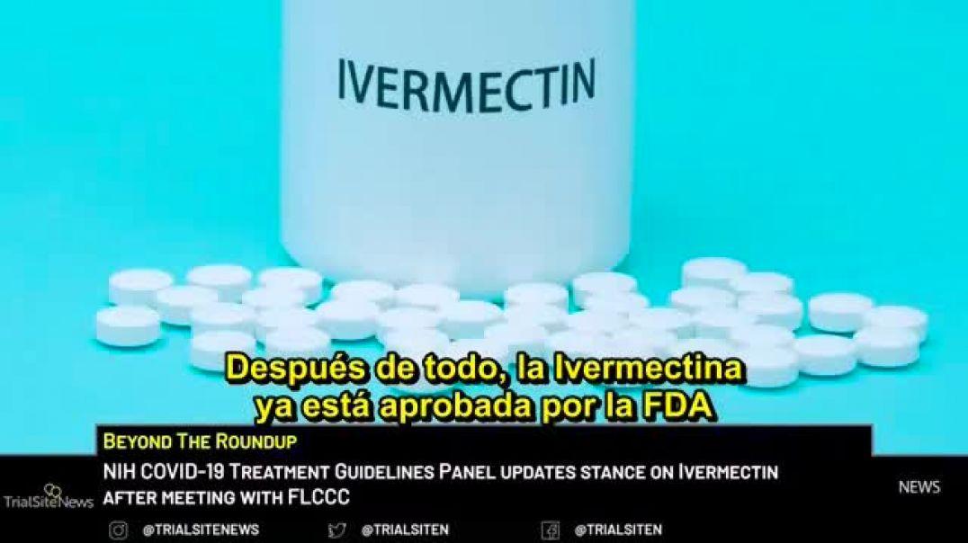NIH cambia su prohibición sobre  Ivermectina para Covid-19
