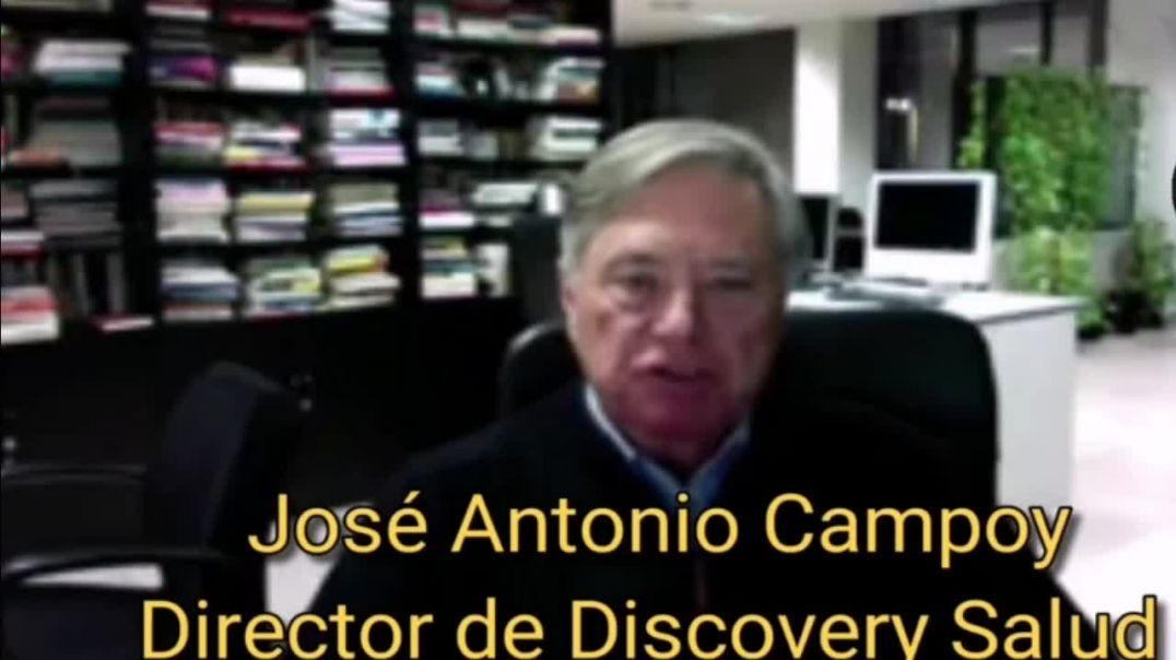 José Antonio Campoy: Covid, Sars-CoV-2, Mascarillas, PCR, Vacunas | SIN DESPERDICIO