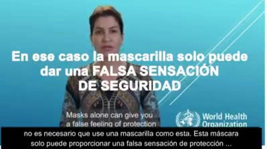 """LA OMS DIJO: """"LAS MASCARILLAS PUEDEN SER FUENTE DE INFECCIÓN"""""""