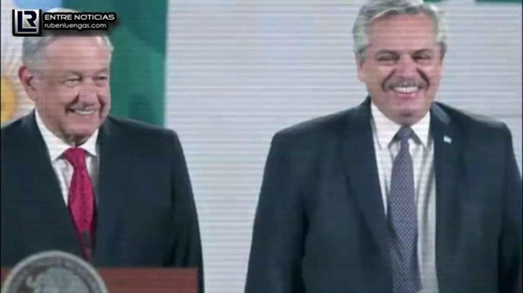 Argentina México: Dos gobiernos diferentes, pero iguales | Rubén Luengas #EnContacto | 23/FEB/2021