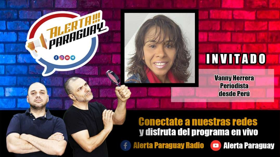 Entrevista con Vanny Herrera, Periodista Peruana