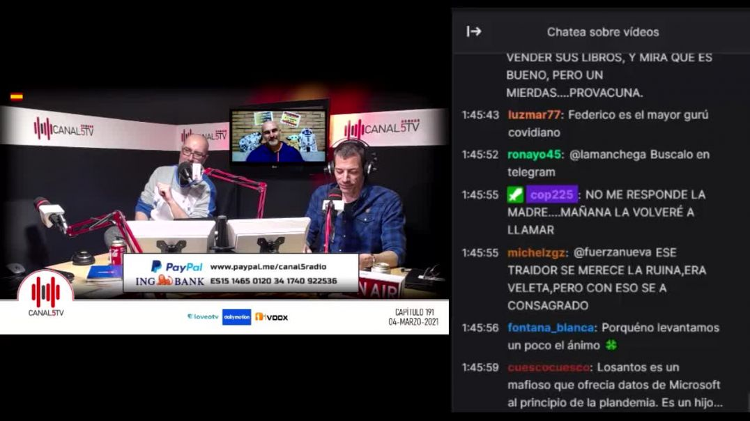 04_03_2021 Canal 5 TV  _ Programa 191