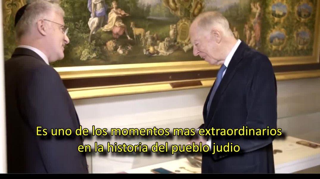 Jacob Rothschild habla sobre la Declaración Balfour.