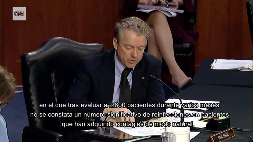 FAUCCI AUDIENCIA SENADO EEUU