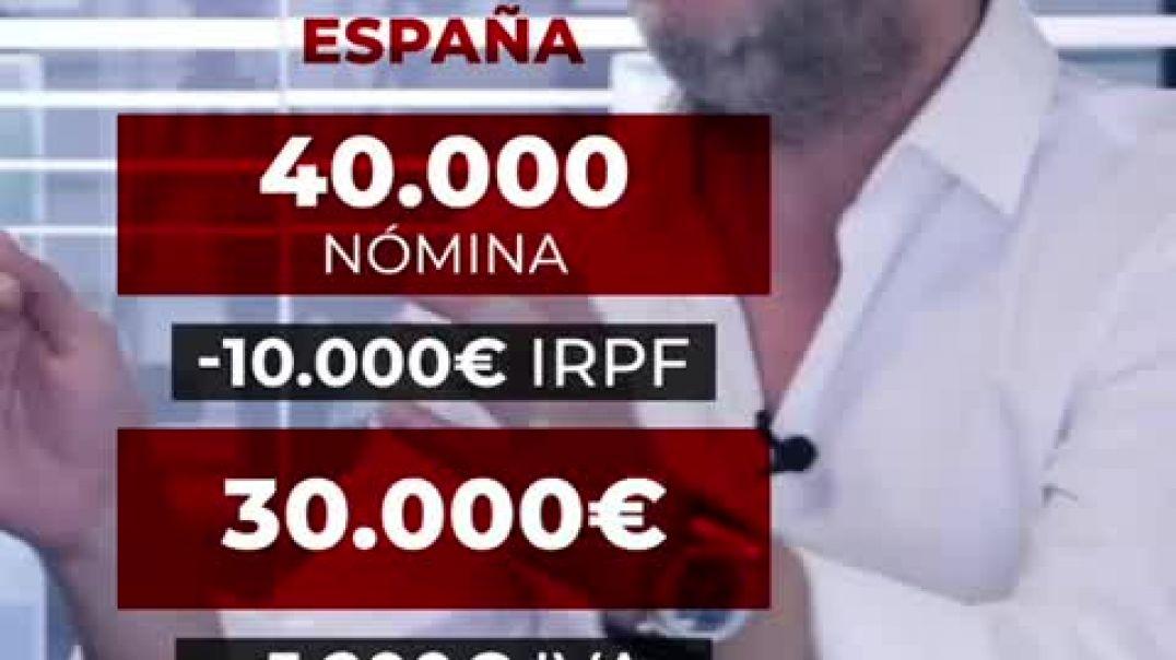 España, como infierno fiscal.
