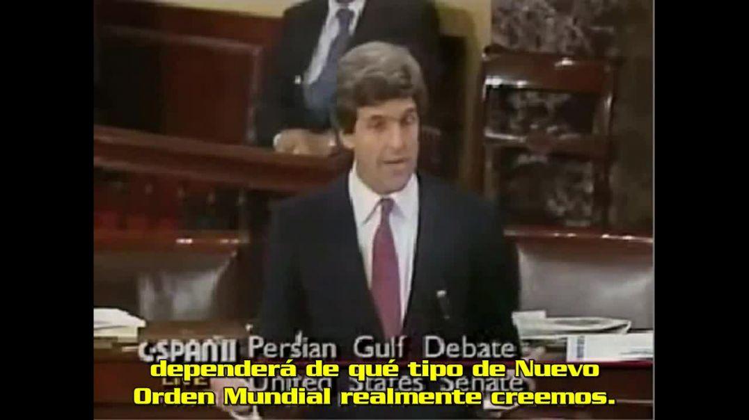 John Kerry habla sobre el Nuevo Orden Mundial. (1991)