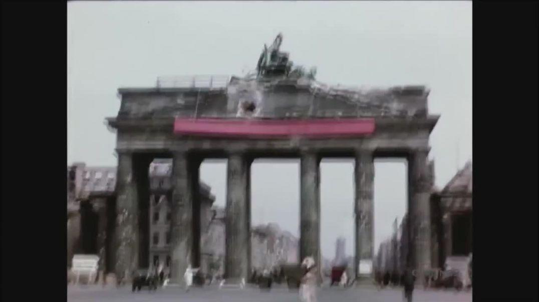 Alemania, 2 meses después de la segunda guerra mundial- Berlín Julio 1945.