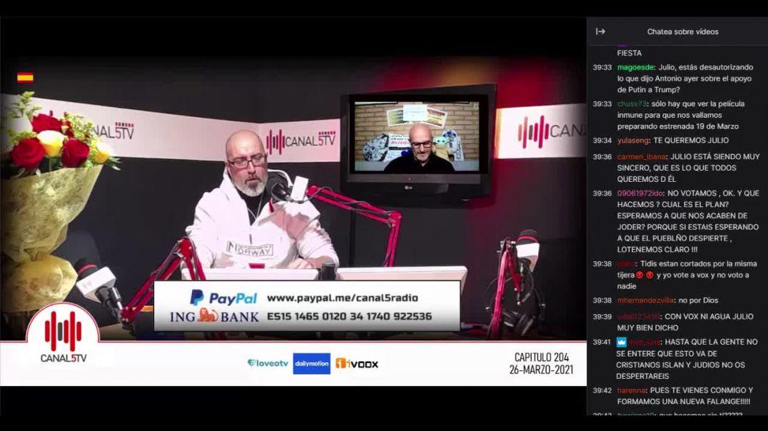 26_03_2021 Entrevista en Canal 5_Programa 204