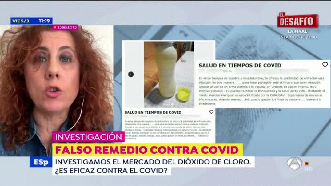 Poca vergüenza los de Antena3 TV. Cientos de médicos demuestran los beneficios del C2O.