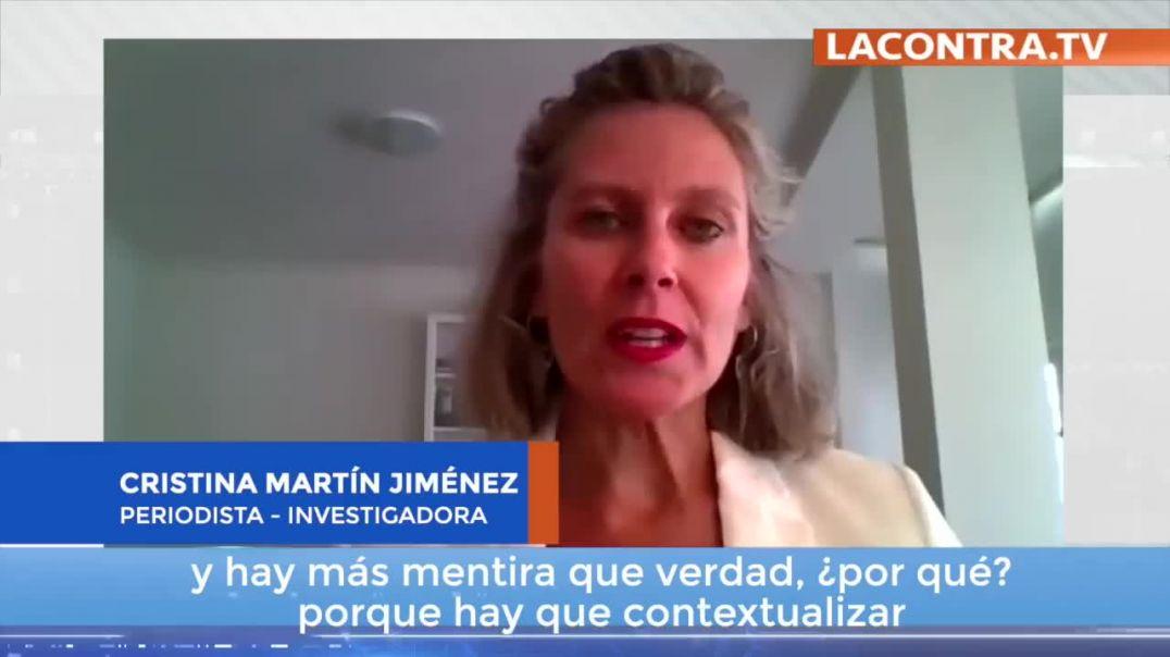Cristina Martín Jiménez.  La mentira de la pandemia