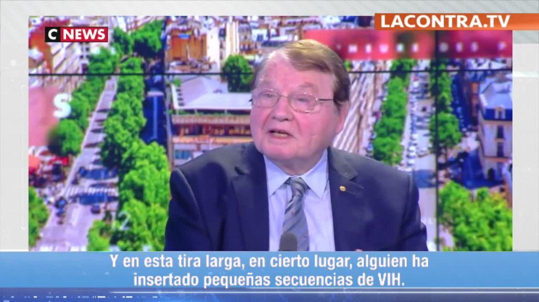 Luc Montagnier - Virus insertado con VIH.