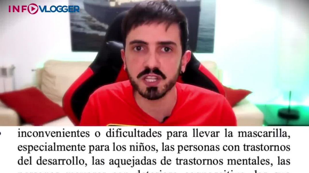 ⛔¡Buenas noches España! Lo que no te dicen de la mascarilla. JLP.