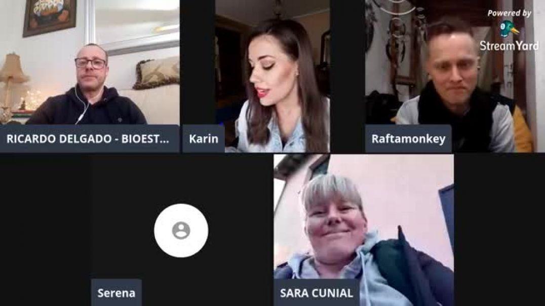 ⛔Entrevista a Sara Cunial, con La Quinta Columna, Karin Becker y Raftamonkey