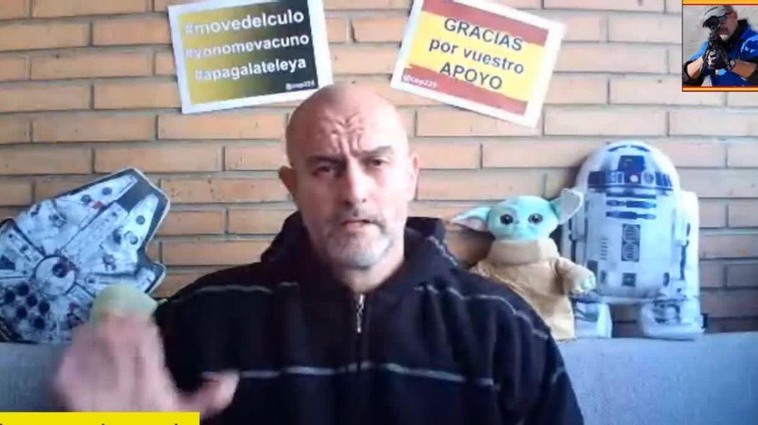 """ENTREVISTA DE RAFA NAVARRO A UN SANITARIO DESMONTANDO LA PANDEMIA """"NOS ESTAN TOMANDO EL PELO&qu"""
