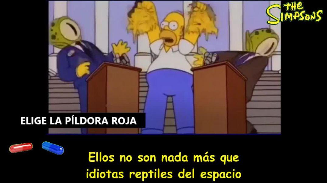 LOS SIMPSONS VUELVEN A DECIRNOS LA VERDAD  A LA CARA. PRIMADO NEGATIVO.