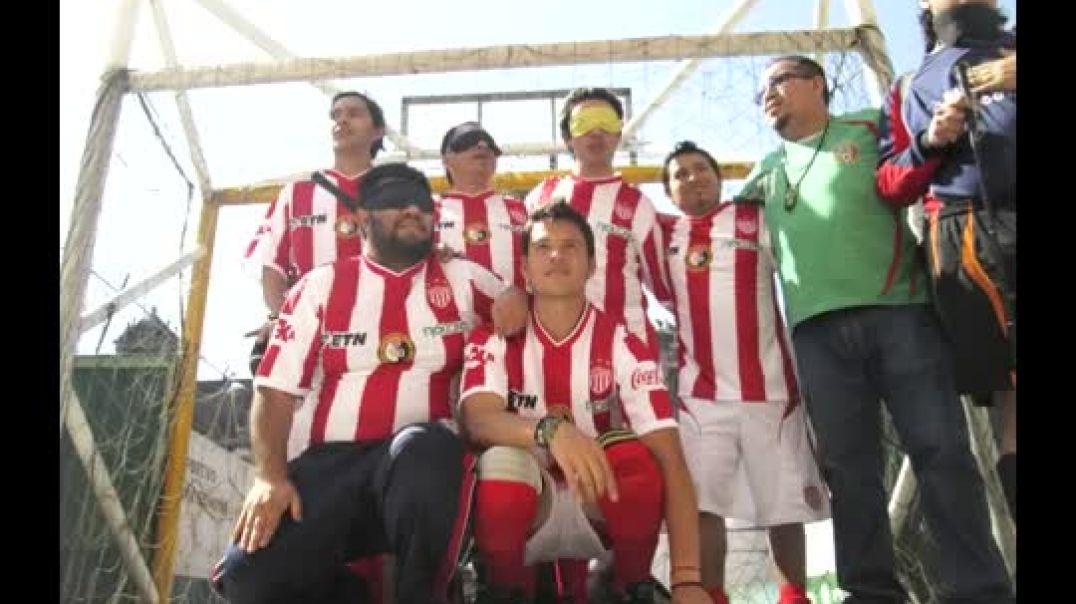 Fútbol para ciegos en Ciudad de México.