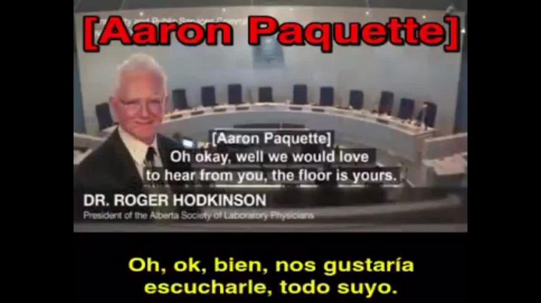 LLAMADA TELEFÓNICA DEL DR. ROGER HODKINSON, PRESIDENTE DE LA SOCIEDAD ABIERTA DE FÍSICA