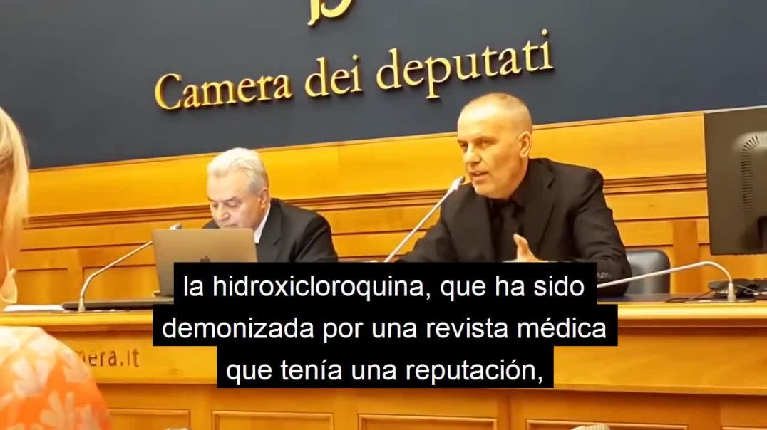 "Médico Italiano: ""Matamos a las personas"""