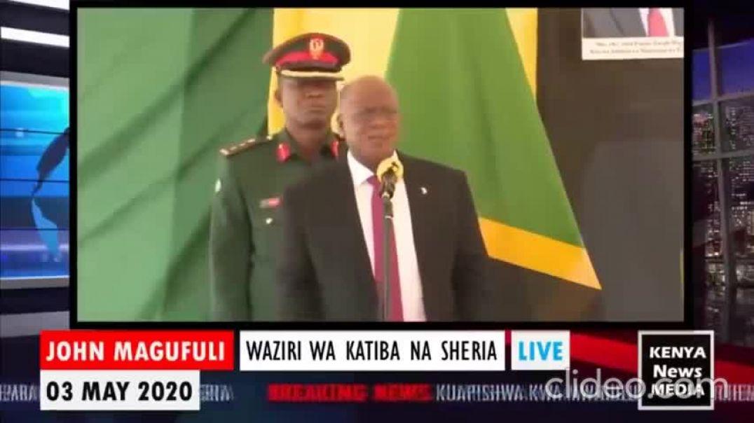 PRESIDENTE DE TANZANIA DESTAPA LA VERDAD - IMPORTANTE COMPARTIR