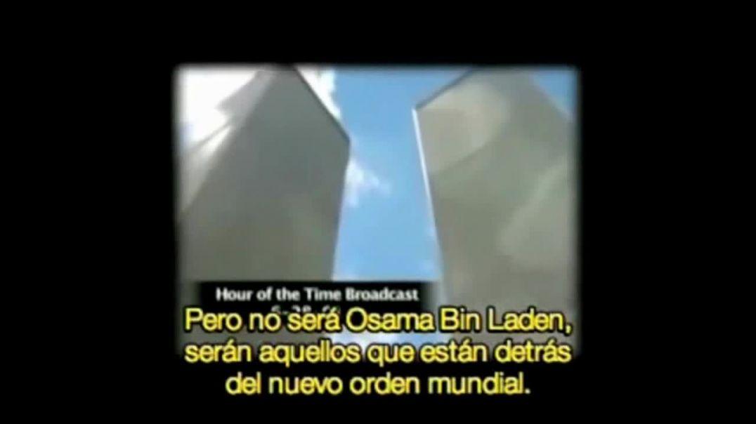 Bill Cooper predijo un ataque y dijo que culparían a Bin Laden.