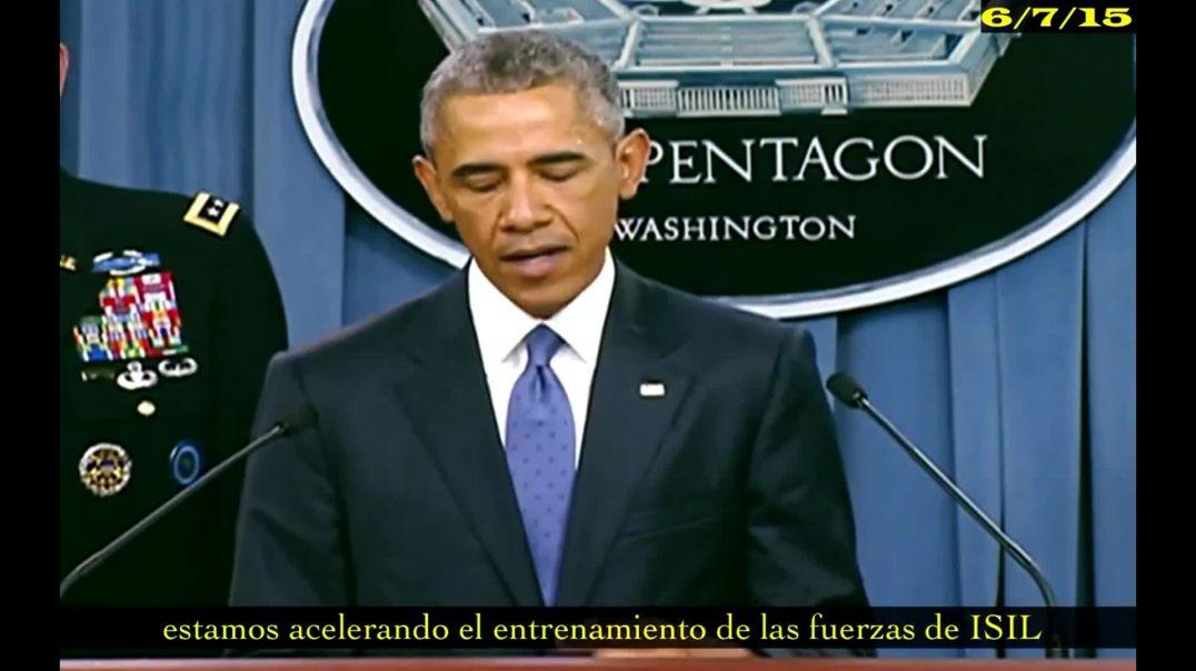 Obama -  estamos acelerando el entrenamiento de las fuerzas de ISIS.