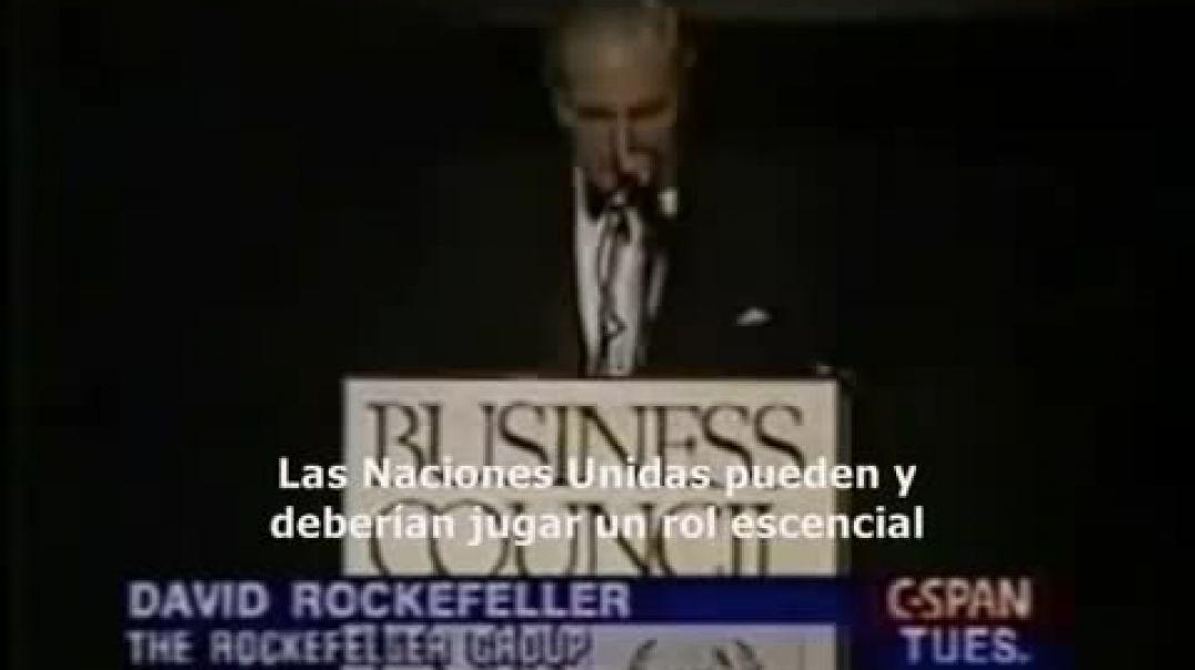 David Rockefeller - Estabilizar la población mundial.
