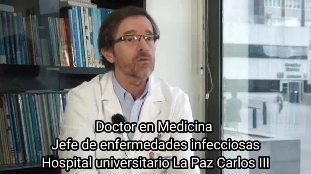 Dr. José Ramón Arribas - Las mascarillas no son útiles.
