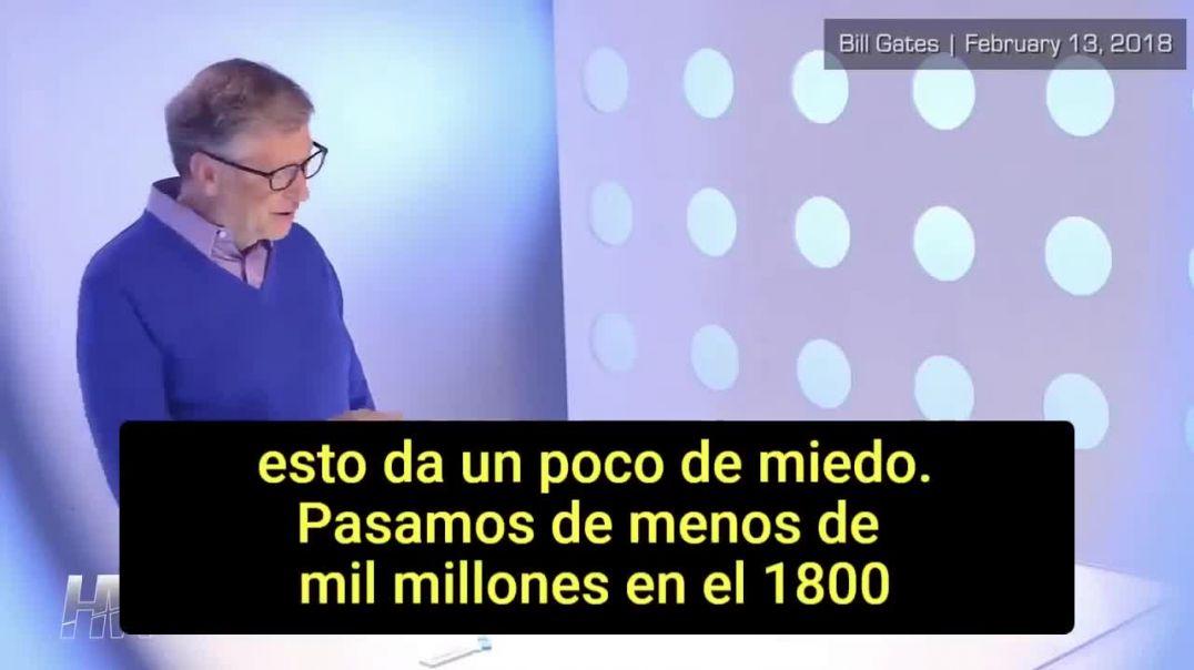 Bill Gates descifrando su propia agenda.