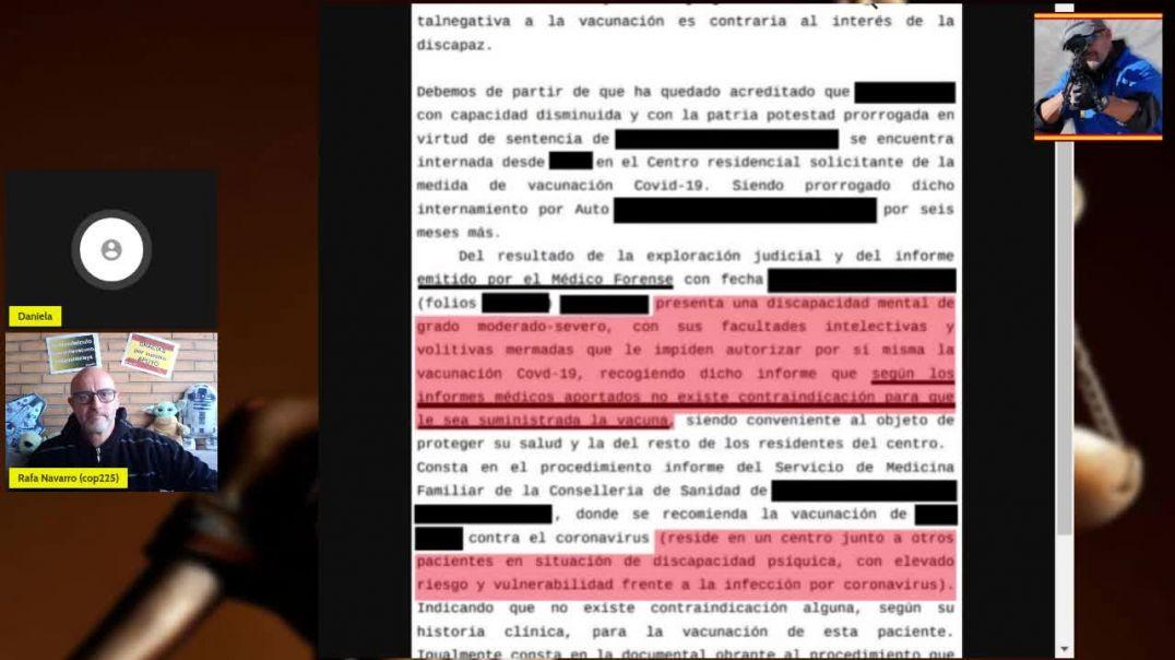 20_03_2021 Vacunación forzosa por orden judicial.