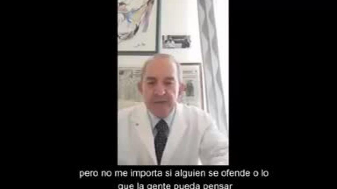 Médico italiano denunciando las atrocidades que se están permitiendo
