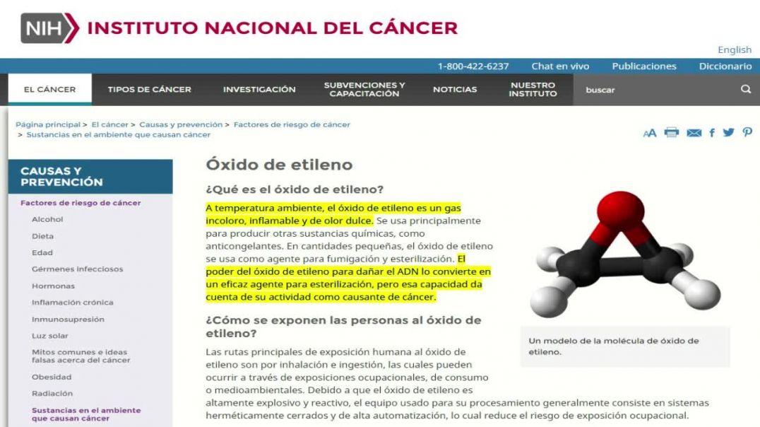 LOS HISOPOS DEL TEST PCR POSEEN UN POTENTE CANCERÍGENO