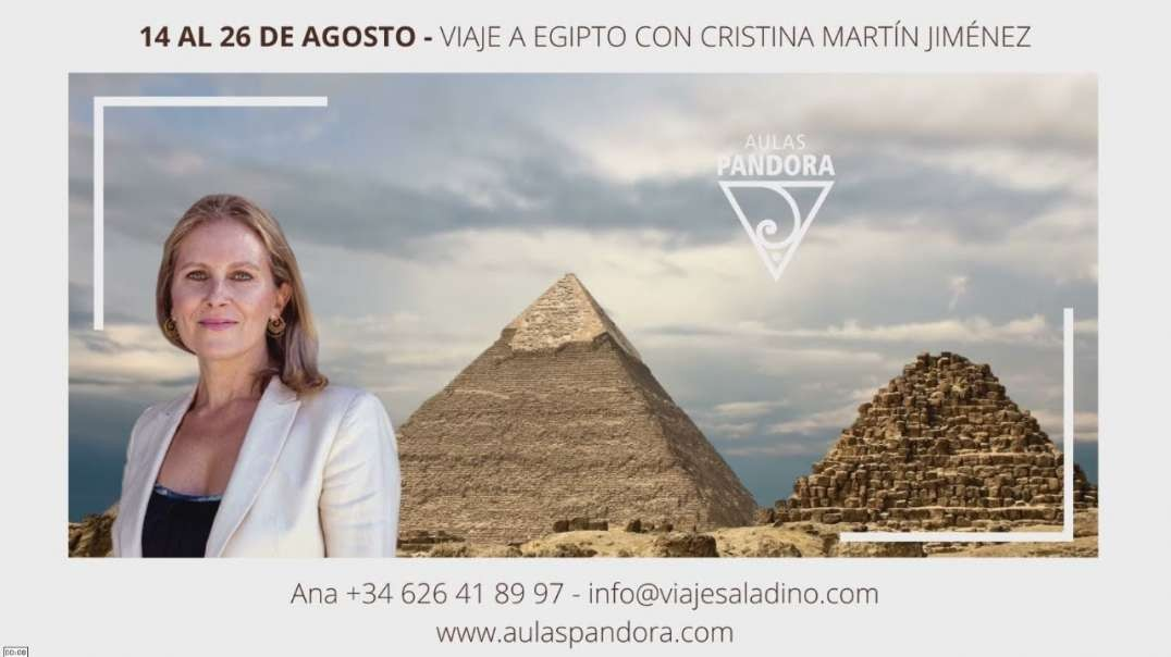 VIAJE A EGIPTO con Cristina Martín Jiménez - Del 14 al 26 Agosto 2021