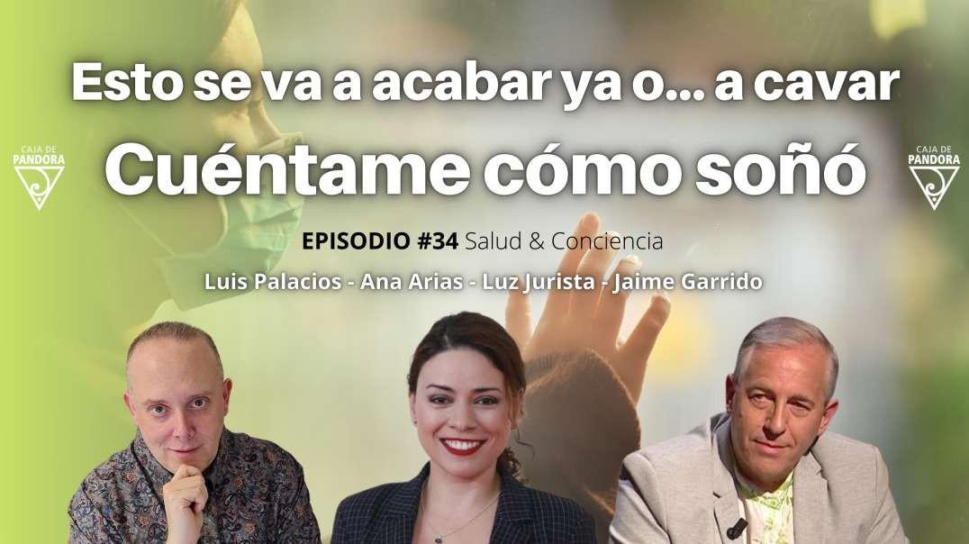 Esto se va a acabar ya o... a cavar, Cuéntame cómo soñó con Jaime Garrido, Ana Arias