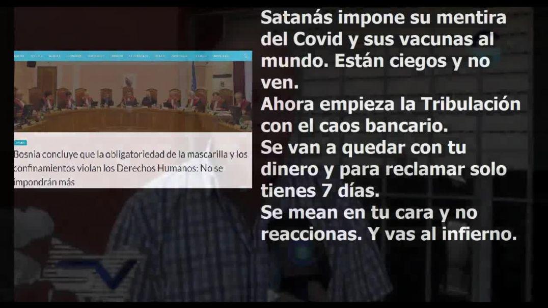 Satanas impone si mentira Covid y la gente se lo cree