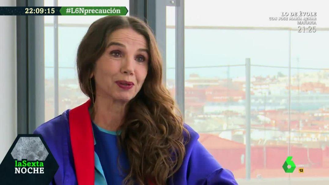 Victoria Abril v2.0. Entrevista para el programa La Sexta Noche.