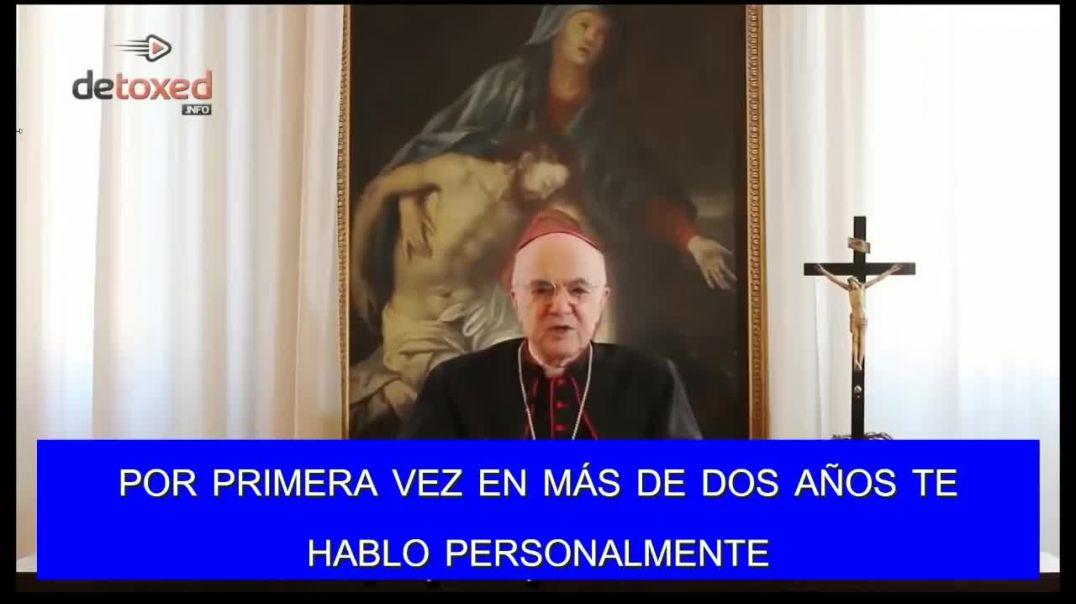 Arzobispo denuncia que el Papa actúa bajo las órdenes del NOM