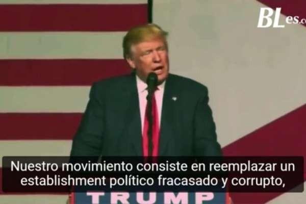 ? Trump y su discurso más relevante antes de las elecciones del 2016 ? <br> <br>Este video muestra un compilado del discurso más relevante que pronunció Donald Trump, antes de las elecciones..
