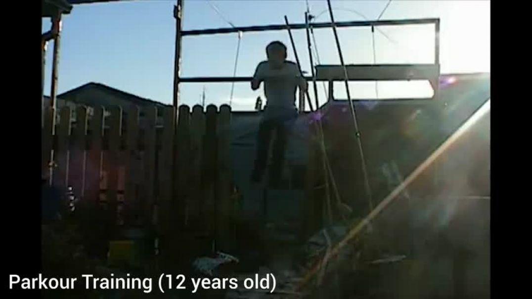MGTOW 3.0 HL parkour 12 años training timeline entrenamiendo