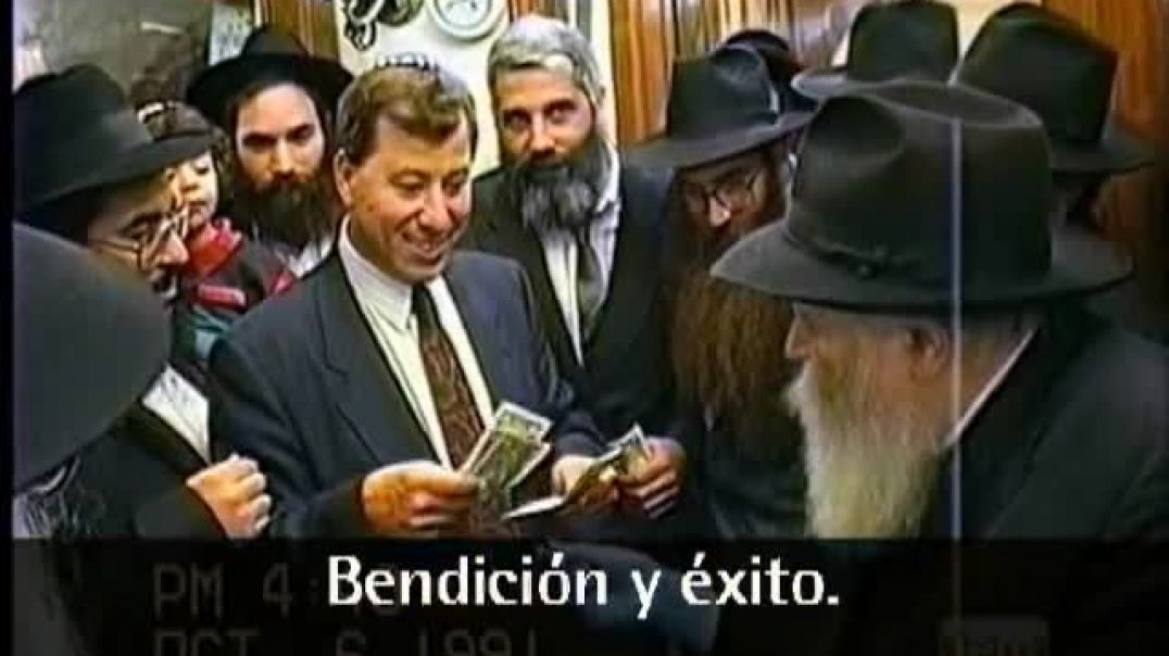 Rabino; el Rebe De Lubavitch - Siria e Irán.