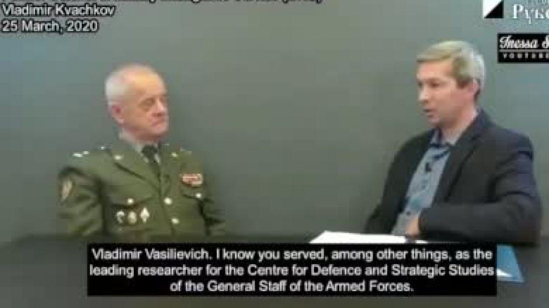 Coronel Vladimir Kvachkov habla sobre el COVID-19