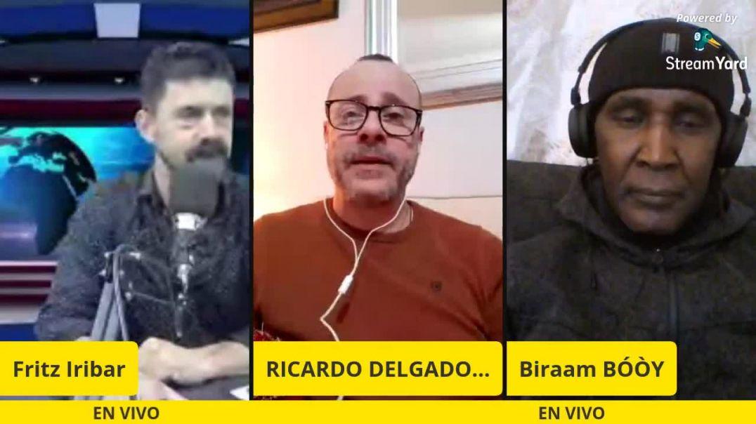 09_03_2021 Entrevista a Ricardo Delgado y al Doctor Biraam Boy por parte de Fritz Iribar