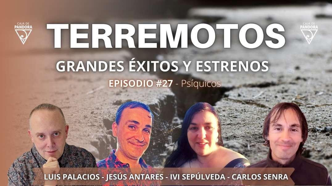 TERREMOTOS - Grandes éxitos y estrenos con Ivi Sepúlveda, Jesús Antares, Carlos y Luis