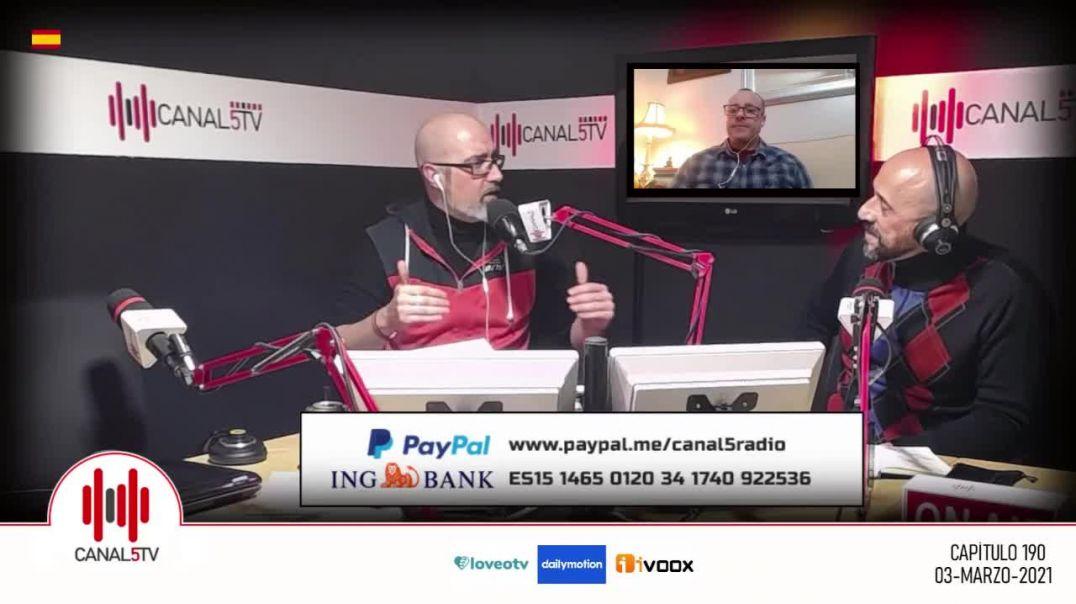 ENTREVISTA A LA QUINTA COLUMNA EN CANAL 5 RADIO | UN REPASO A LA PLANDEMIA