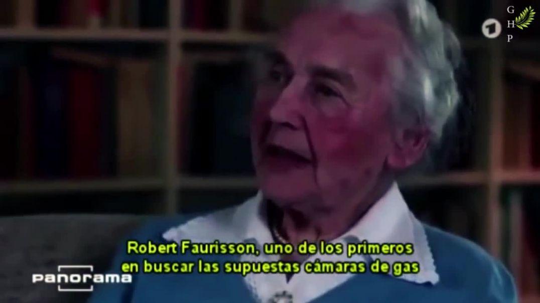 Ursula Haverbeck - Entrevista - Holocausto-Órdenes de Guarnición, etc.