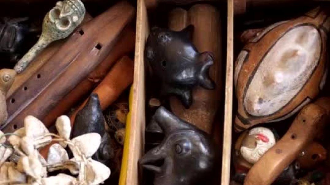 Instrumentos Musicales Prehispánicos.