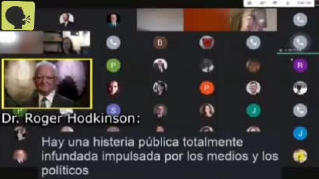 ROGER HODKINSON AFIRMA QUE EL COVID 19 ES EL MAYOR ENGAÑO DE LA HISTORIA