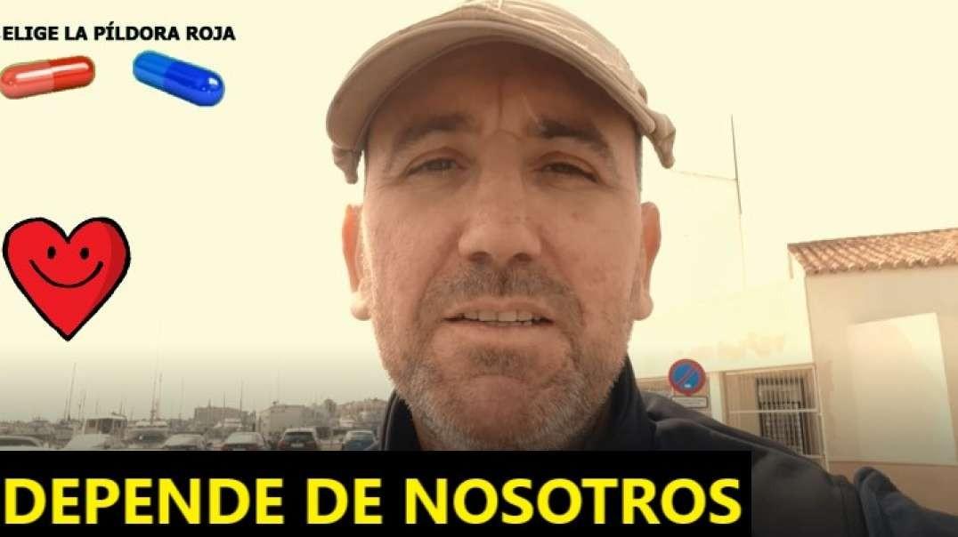 SALVARNOS DEPENDE DE NOSOTROS.