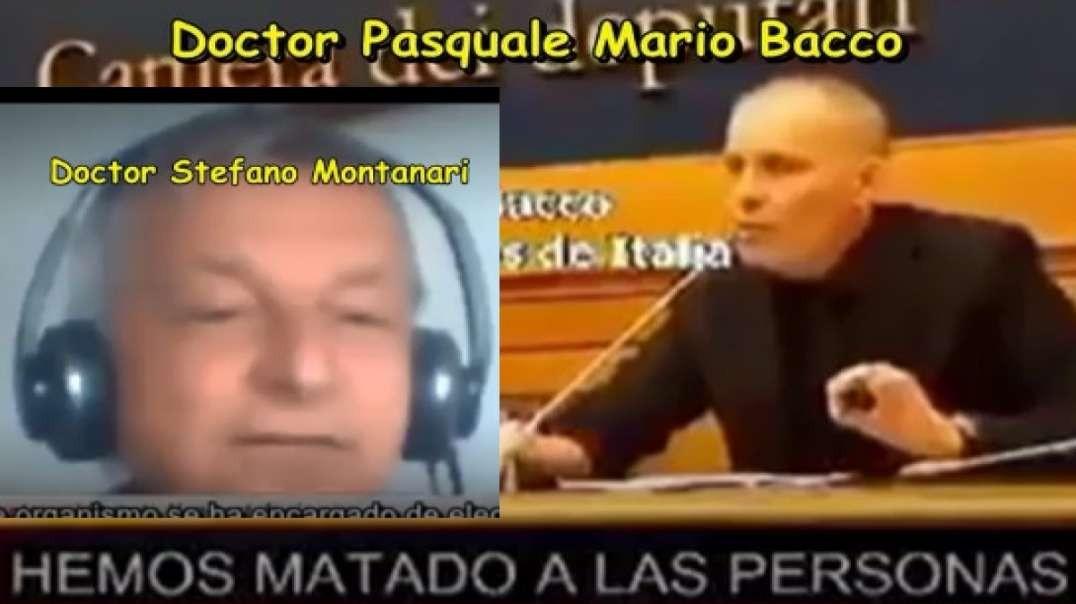 """DOCTORES STEFANO Y PASQUALE: """"FUE LA MALA PRAXIS MÉDICA Y NO EL  COVID LO QUE MATÓ A LA MAYORÍA"""
