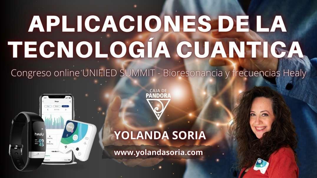 Aplicaciones de la Tecnología Cuántica con Yolanda Soria. Congreso online UNIFIED SUMMIT